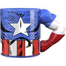 More details for marvel captain america arm mug meta merch 12oz mug gift for marvel fan *new*