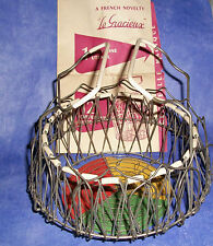 1956 Paris World Fair Memorabilia The Magic Basket, Le Gracieux Collectible