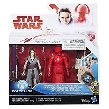 "Star Wars The Last Jedi 3.75"" Inch Rey and Praetorian Guard Force Link"
