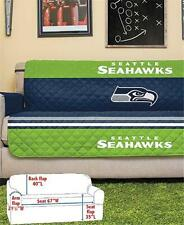 SEATTLE SEAHAWKS NFL FOOTBALL TEAM SOFA COUCH FURNITURE PROTECTIVE COVER