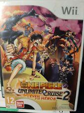 ONE PIECE UNLIMITED CRUISE 2 l'éveil d'un héro - jeu complet Nintendo Wii- TBE