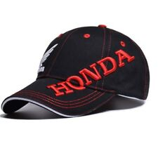 Honda Cap Motorcycle Wing Logo Baseball Black Hat Moto Racing Men Women 3D Polo