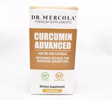 Dr. Mercola Curcumin Advanced - 500 mg MicroActive Curcumin - 30 Capsules