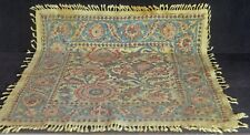 Vintage Antique PERSIAN Hand Woven LINEN SQUARE VV294