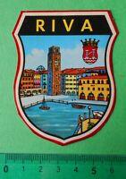 ADESIVO - STICKER - AUTOCOLLANT - RIVA - ANNI '80 - VINTAGE - 6x8 cm