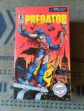 NECA Dark Horse Predator Figure Includes Comic #1 Reprint 25th Anniversary