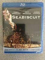 Seabiscuit (Blu-ray Disc, 2009) Brand New