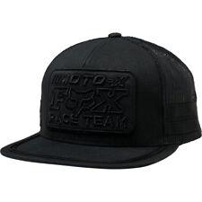 Fox Racing Men's Intercept Snapback Hat Black Headwear Baseball Cap