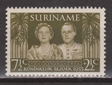Suriname nr 324 MNH PF Juliana en Bernard 1955 Royalty
