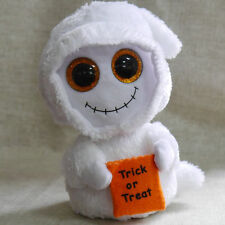 """New Ty Beanies Boos Mist Ghost Stuffed doll 6"""" in hand"""
