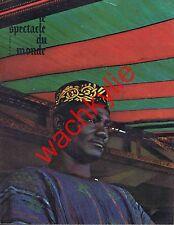 Le spectacle du monde n°51 06/1966 Ghana Kibboutz Israël  Tarsis Georges Simenon