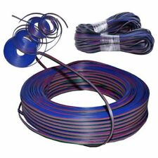 328FT 22AWG RGB 3528 5050 RGB LED Strip 4 Pin Extension Cable Wire Connector