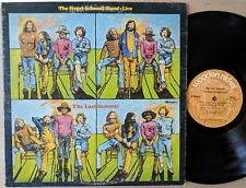 LIVE BLUES-ROCK LP: THE SIEGEL-SCHWALL BAND--LIVE The Last Summer WOODEN NICKEL