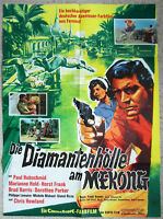 Original Filmplakat Diamantenhölle am Mekong Paul Hubschmid 1964