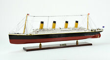"""RMS Titanic White Star Line Cruise Ship Model 40"""" with lights Museum Quality"""