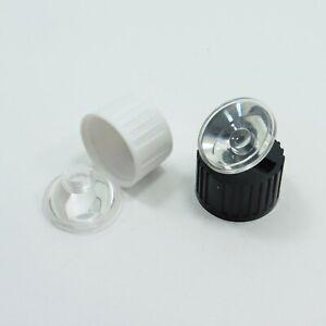 Acrylic Optics LED Lens Plastic 20mm Holder Angle 5 - 120 Degree 1W / 3W / 5W