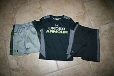 Boy's Under Armour shirt shorts size 4 5