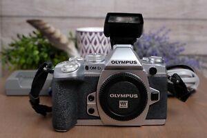 Olympus OM-D E-M1 16.3MP Digital Camera - Silver (Body Only) ***READ***