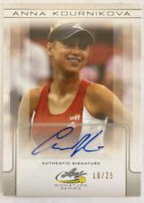 2017 Leaf Signature Series Tennis Anna Kournikova Auto Autograph 10/25 HTF