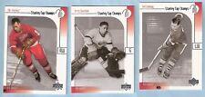 2001-02 Upper Deck Stanley Cup Champs Gordie Howe Terry Sawchuk Ted Lindsay