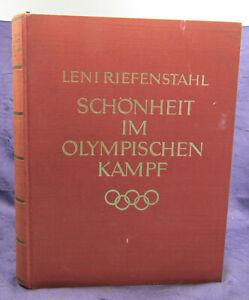 Riefenstahl Schönheit im Olympischen Kampf 1937 Original - Auflage Geschichte sf