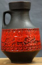 MID CENTURY FAT LAVA CARSTENS FORM 158-30 XL VASE VERY GOOD CONDITION