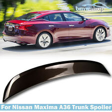 Painted #CAT For Nissan Maxima A36 8th 4DR OE-Type Rear Trunk Spoiler 2015-2017