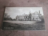 Early Yorkshire Postcard - The Spa Hotel - Ripon