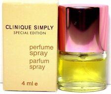 CLINIQUE SIMPLY SPECIAL EDITION PARFUM MINI SPRAY FOR WOMEN 0.14 Oz / 4 ml NEW !