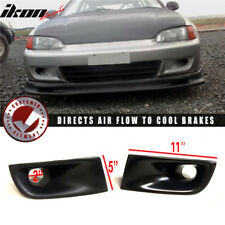 Fits 92-95 Honda Civic EG SR3 Jdm JS Style Air Duct Scoop Vents