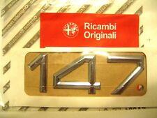 147 Schriftzug Emblem Alfa Romeo original Neu
