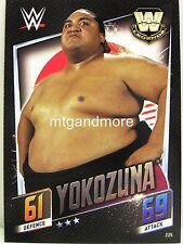 Slam Attax Then Now Forever - #225 Yokozuna