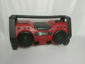 Sony ZS-H10CP CD/Headphone Jack/CD-RW Playback/MP3 CD Playback/Radio/CD-R Playba