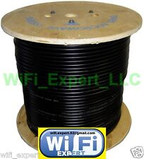 TIMES® 100' LMR195 LMR240 LMR400 LOW LOSS FLEX COAX RF CABLE NO CONNECTORS USA