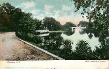 Charleston South Carolina Magnolia Cemetery Postcard