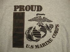 Proud U.S. US Marine Corps Wife Military Troops Support Marines T Shirt size S