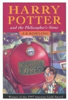 Harry Potter and the Philosopher's Stone by J K Rowling a paperback book jk jay