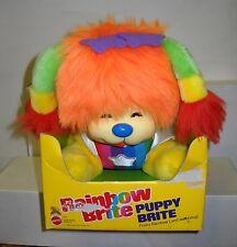 #5362 Rare Nrfb Vintage Mattel Rainbow Brite Puppy Brite Plush Dog