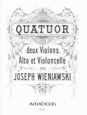 String Quartet A minor op. 32 Wieniawski, Joseph set of parts 2 violins, viola