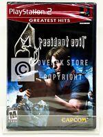 Resident Evil 4 - PS2 - Brand New   Factory Sealed