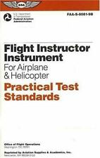 New Flight Instructor for Airplane & Helicopter Practical Test Standards