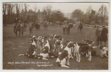 Hampshire postcard - New Forest Fox Hounds, Lyndhurst - RP - P/U