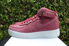NIKE AIR FORCE 1 07 MID LV8 SZ 11 AF1 TEAM RED WHITE 804609 603