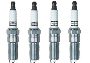 4 Spark Plugs Set CHAMPION 3032 Platinum Power I4 Engine Ignition OEM RE10PMC5