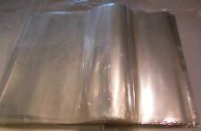 Clear Poly Plastic 300 Bags 17x13 Flat open Packing T-Shirt Apparel Jeans