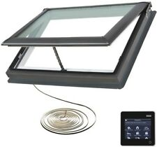 42.25 x 26.88 in Electric Venting Skylight Remote Control Deck Mount Home Window