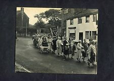 C1950's Original Photo of a Methodist Procession. Believed to be Held in Wardle