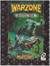 Target Games: Warzone Compendium 2 - Beasts of War (Soft Cover)