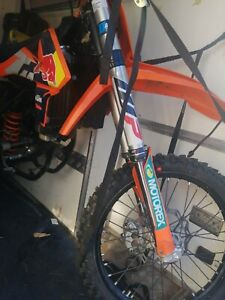KTM 250 sx-f 2016 whitepower forks (not the whole bike!)