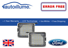Ford LED Side Mirror Puddle Lights For Mondeo Mk4 Focus Kuga Escape C-Max ST ZS